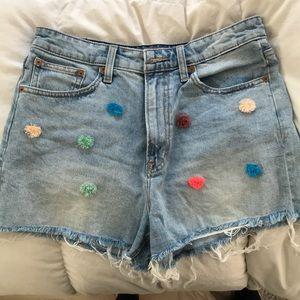 Lucky brand Pom-Pom shorts